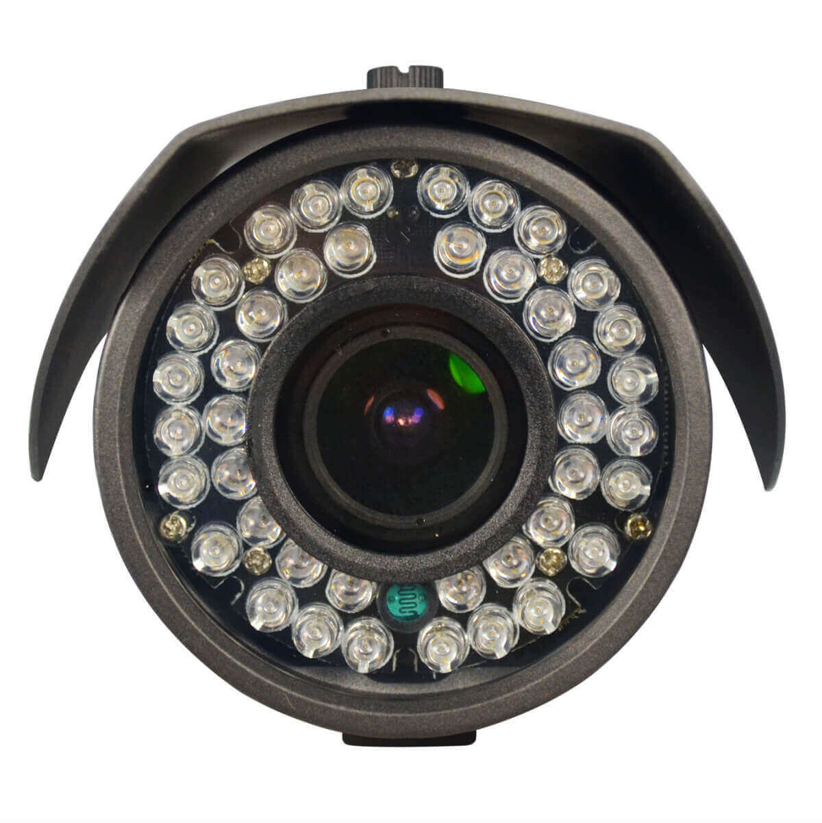 Camara Bazuca IP, 1.3Mp, lente varifocal, 42 LED, 10-15m IR, PoE