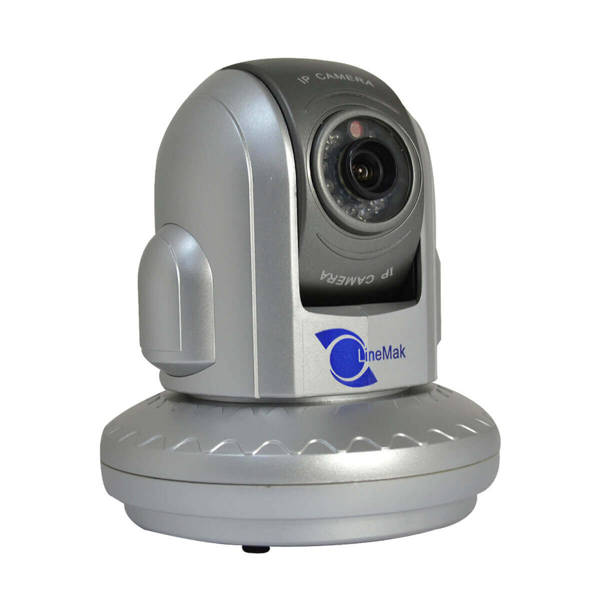 Camara IP motorizada de interiores, 1/3 CMOS 400TV, lente de 6mm, 12 LEDs