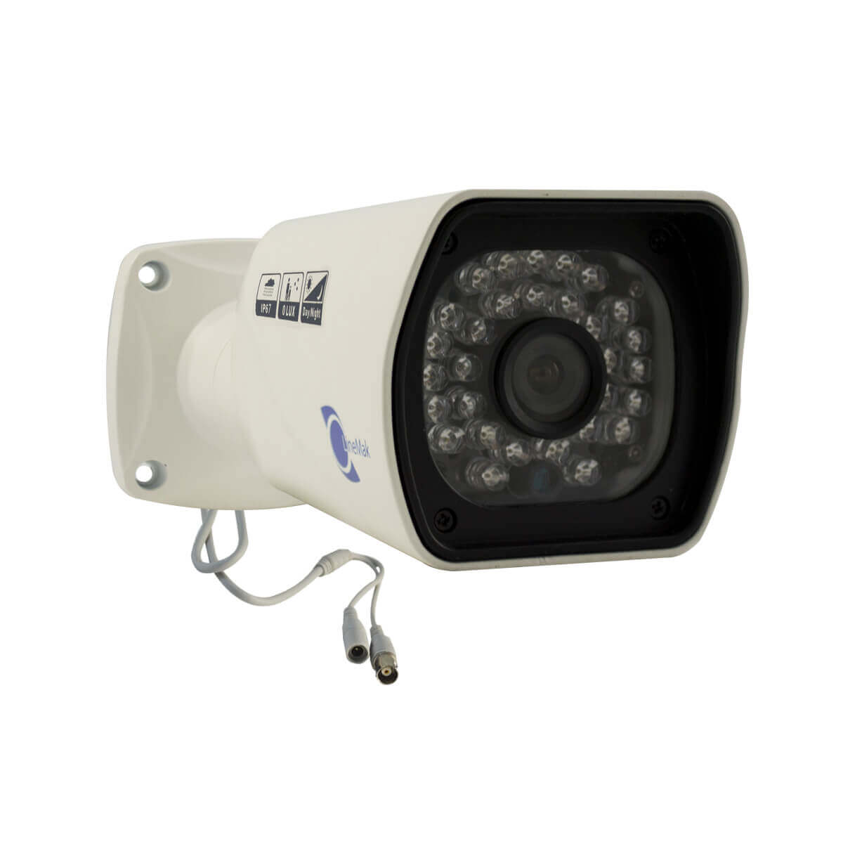 Camara tipo bazuca, HD digital 1/4, 700TVL, 24 LEDs, 20m~25m IR, IP67