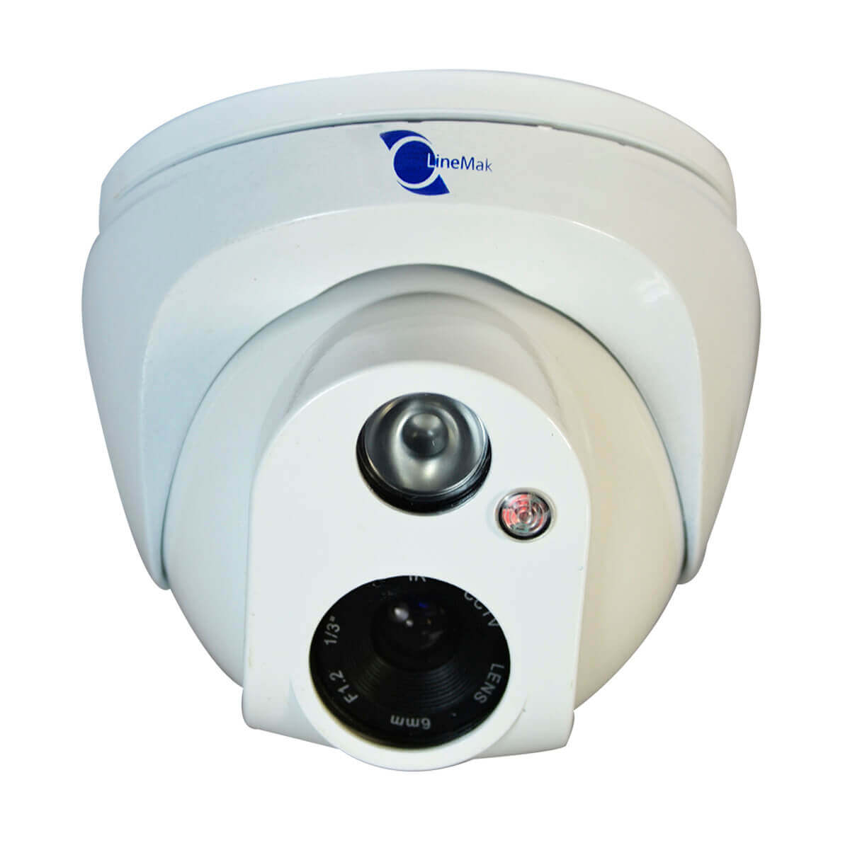 Camara tipo domo, HD CCD 1/4, resolucion 700TVL, 1 LED Array, 30m IR