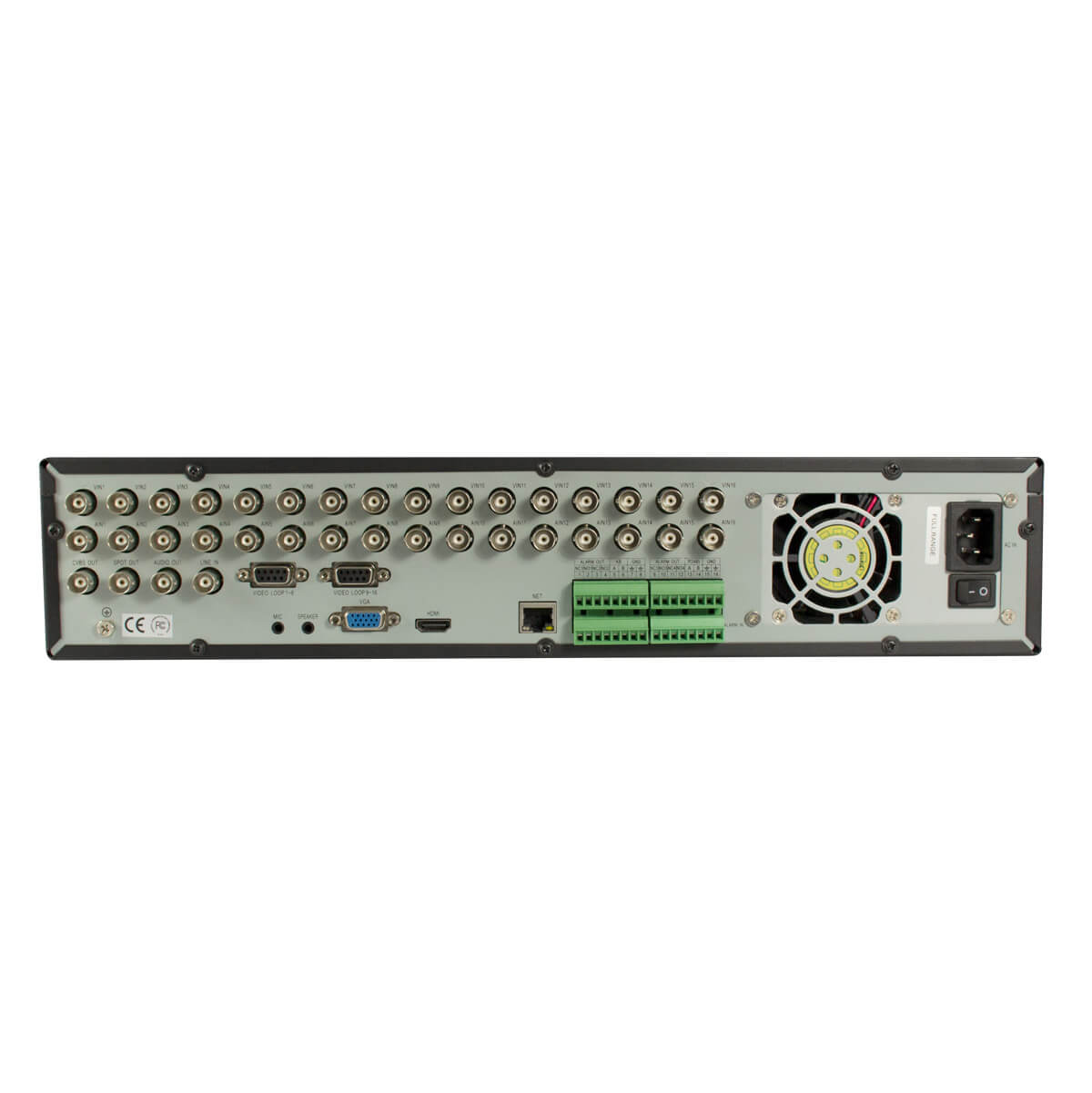 DVR 8 Canales, H264/G711A, VGA/HDMI/CVBS, Audio 8ch-in/1ch-out, D1/CIF