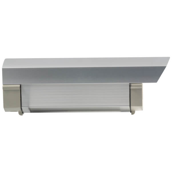 Housing de aluminio, color Gris, no incluye bracket
