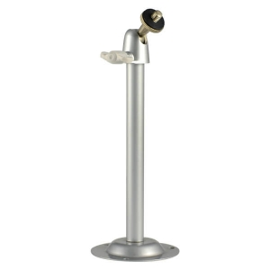 Base metalica para interiores, color plata, puede ser usada con cualquier camara