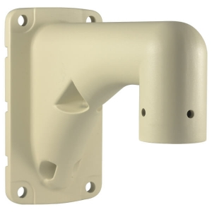 Base metalica de pared, para camara PTZ modelo LS-2016BC, color Beige