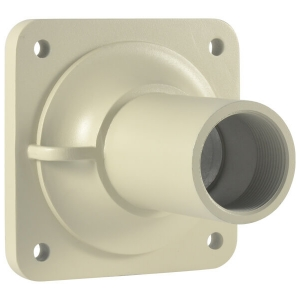 Base metalica de techo para camara PTZ modelo LS-2016A, color beige