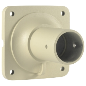 Base metalica de techo para camara PTZ modelo LS-2016BC, color beige.