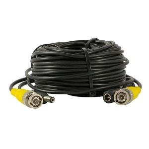 Cable extensor de BNC macho a BNC hembra, 18 metros, transmite video y corriente