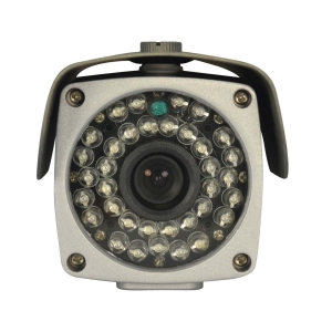 Camara Bazuca IP 1/3 Sensor CMOS 2Mp, lente 3.6mm, 36 LED, 30m IR, PoE
