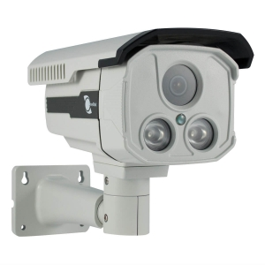 Camara Bazuca IR, 1/3 SONY CMOS, 1000TVL, lente 6mm, 2 LED Array, IP66