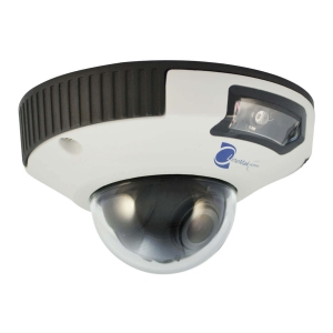 Camara Domo IP, Sensor Sony CCD, 2Mp, 1 LED, 6m IR, IK10/IP66, PoE