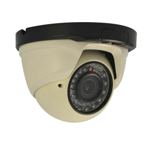 Camara Domo IP, 1.3Mp, lente varifocal, 30 LED, 10~15m IR, PoE