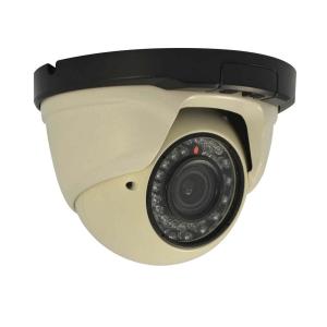 Camara Domo IP, 1.3Mp, lente varifocal, 30 LED, 10~15m IR, PoE
