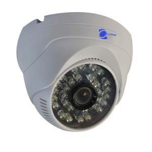 Camara tipo Domo, Sensor CMOS 1/3, resolucion 800TVL, 30 LED, 25m IR