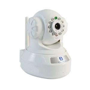 Camara IP/WI-FI tipo domo, Sensor CMOS 0.3 mp, lente 3.6mm.