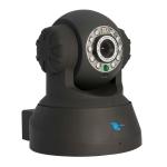 Camara IP tipo domo para interiores, CMOS 1/4