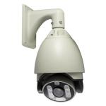 Camara para exteriores tipo domo PTZ alta velocidad, CCD SONY 650TV, ZOOM 22X, 9 LEDs ARRAY