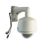 Camara para exteriores tipo domo PTZ alta velocidad, CCD SONY 480TV, ZOOM 27X, Segunda Generacion