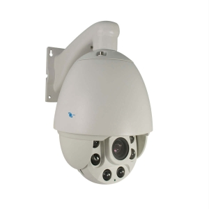 Camara domo PTZ, CCD Sony 1/3, 650TVL, 6 LEDs, 80m IR, IP66, Zoom 27x