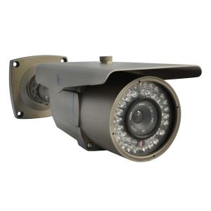 Camara tipo bazuca, 1/3 CCD SONY 700 TVL, lente 6mm, Menu OSD, 42 LEDs.