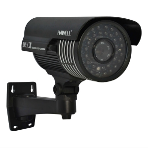 Camara tipo bazuca, Sensor CCD Sony 1/3, 540TVL, 36pzs LEDs, 50m IR