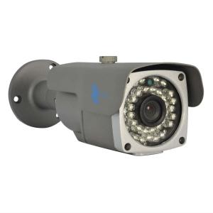 Camara bazuca IP, Sensor CMOS 1/3, 1Mp, 36 LEDs, 30m IR, IP66, PoE