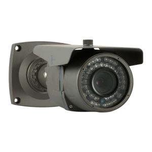 Camara IP tipo bazuca, 1/4 CMOS con sensor dual-core 32bit DSP (TI Davinci DM365), lente 8mm
