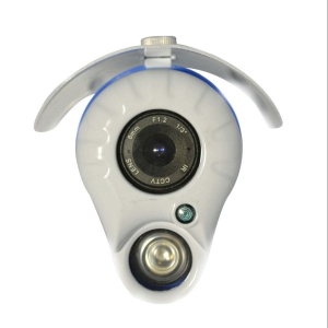 Camara bazuca, Sensor CCD 1/3, 700TVL, lente 6mm, 1 LED Array, 30m IR