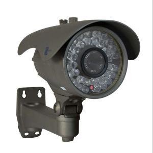 Camara tipo bazuca, Sensor CCD HD 1/3, 600TVL, 36pzs LEDs, 40m IR