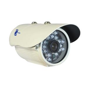 Camara tipo bazuca, Sensor CCD HD 1/3, 700TVL, 18 LEDs, 20m~30m IR
