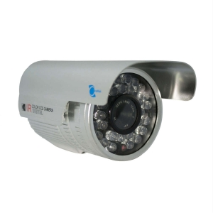 Camara tipo bazuca, Sensor CCD Sony 1/3, 500TVL, 24 LED, 50m IR, OSD