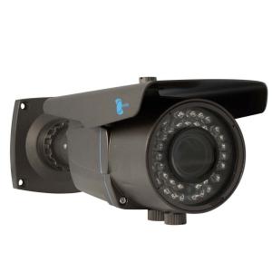 Camara bazuca, Sensor CCD Sony 1/3, 700TVL, 42 LED, 40m IR, IP66, OSD