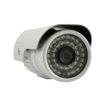Camara bazuca, HD digital 1/4, 700TVL, 36 LEDs, 20m IR, IP66, IR-CUT