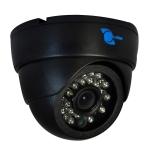 Camara tipo domo, CMOS 1/4, resolucion 700TVL, 24pzs LED, 20m IR