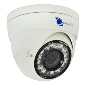 Camara domo IP, Sensor Sony CCD 1/2.8, 2Mp, 15 LEDs, 15m~25m IR, PoE