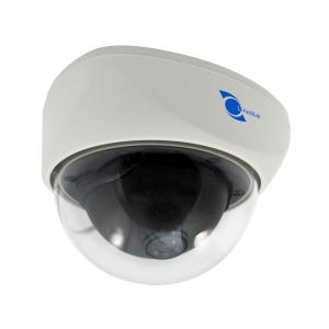 Camara tipo domo, Sensor CMOS 1/3, resolucion 800TVL, lente de 3.6mm