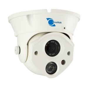 Camara tipo domo, Sensor CMOS HDIS 1/2.5, 1200TVL, 1 LED Array, 30m IR