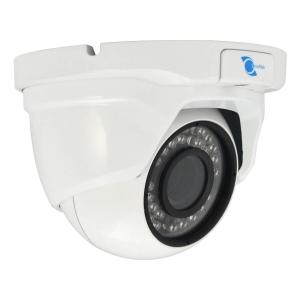 Camara tipo domo, Sensor CMOS HDIS 1/2.8, 1200TVL, 24 LEDs, 20m IR