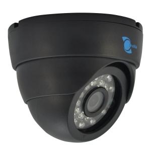 Camara tipo domo, Sensor CMOS HDIS 1/3, 700TVL, 24pzs LEDs, 20m IR