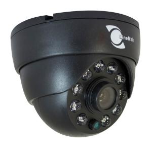 Camara tipo domo, Sensor HD CCD 1/3, 600TVL, 10 LEDs, 15m IR, IR-CUT