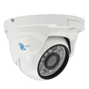 Camara tipo domo, Sensor HDIS CMOS 1/2.8, 1200TVL, 24 LEDs, 20m IR