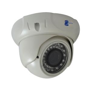 Camara tipo domo, Sensor Sharp CCD 1/3, 600TVL, 36 LED, 30m IR, IR-CUT
