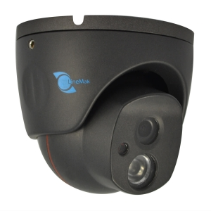 Camara domo, Sensor Sony CCD 1/3, 700TVL, 1 LED Array, 25m IR, IP66