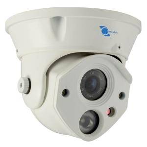 Camara tipo domo, Sensor Sony CCD 1/3, 700TVL, 1 LED Array, 30m IR