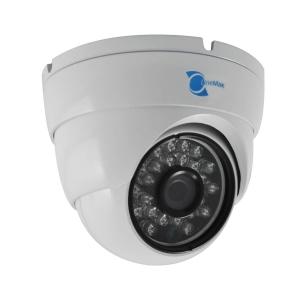 Camara tipo domo, Sensor Sony CCD 1/3, 700TVL, 24 LEDs, 20m IR, UTC