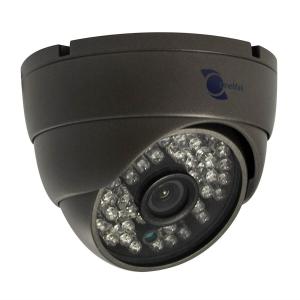 Camara tipo domo, Sony CCD 1/3, 700TVL, 48 LEDs, 40m IR, IP66, OSD