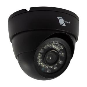 Camara tipo domo, Sensor HD digital 1/3, 900TVL, 24 LEDs, 20m IR