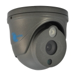 Camara tipo domo, HDIS CMOS 1/4, 700TVL, 1 LED Array, 25m IR, IP66