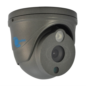 Camara tipo domo, HDIS CMOS 1/4, 700TVL, 1 LED Array, 25m IR, IP66