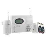 Central de alarma inalambrica y alambrica, pantalla LCD