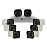 Combo 8 camaras, CCD HD de 1/4, 700TVL, IP67, DVR 8-Ch, H.264, D1/CIF
